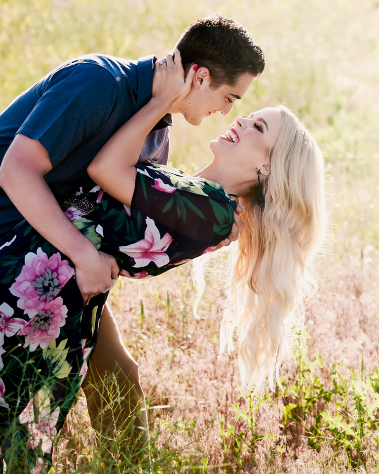 Pocatello Idaho Styled Engagement City Creek